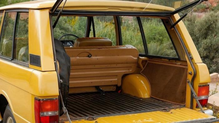 Range Rover Classic Trasero Puerta Ventana Canal Derecho Mano Dura Dash